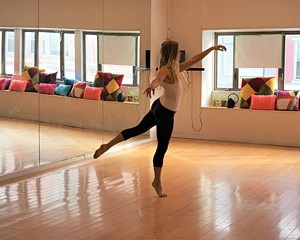 Leighann Kowalsky at the Dance Studio at BSP.