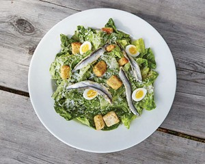 Caesar salad from Bull & Garland