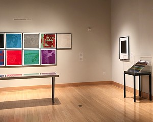 © 2018 The Andy Warhol Foundation for the Visual Arts, Inc. / Licensed by Artists Rights Society (ARS), New York Photograph courtesy of SUNY New Paltz