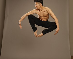 Gen Hashimoto of Jennifer Muller/The Works. The company will perform at Kaatsbaan on May 26.