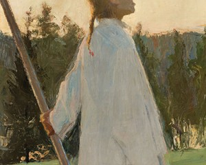 Echo   ellen thesleff   oil on canvas   1891