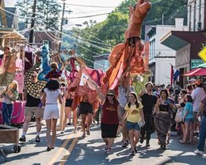 Parade at Rosendale Street Festival