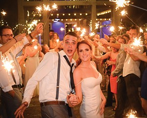 Spencer and Amy from Phoenicia were married at the Roxbury Barn.