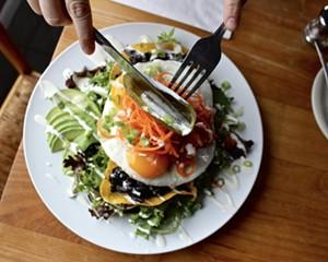 Brunch at Cafe Mio in Gardiner