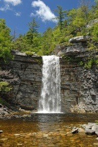 Minnewaska is known for their numerous waterfalls and streams along trails. - MINNEWASKA STATE PARK RESERVE