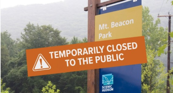 On the evening of March 27, Scenic Hudson announced it was closing one of its most-visited properties, Mount Beacon Park.