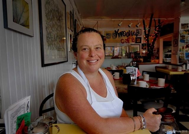 Maggie Landis has been feeding Tannersville at Maggie's Krooked Cafe and Juice Bar since 1986.