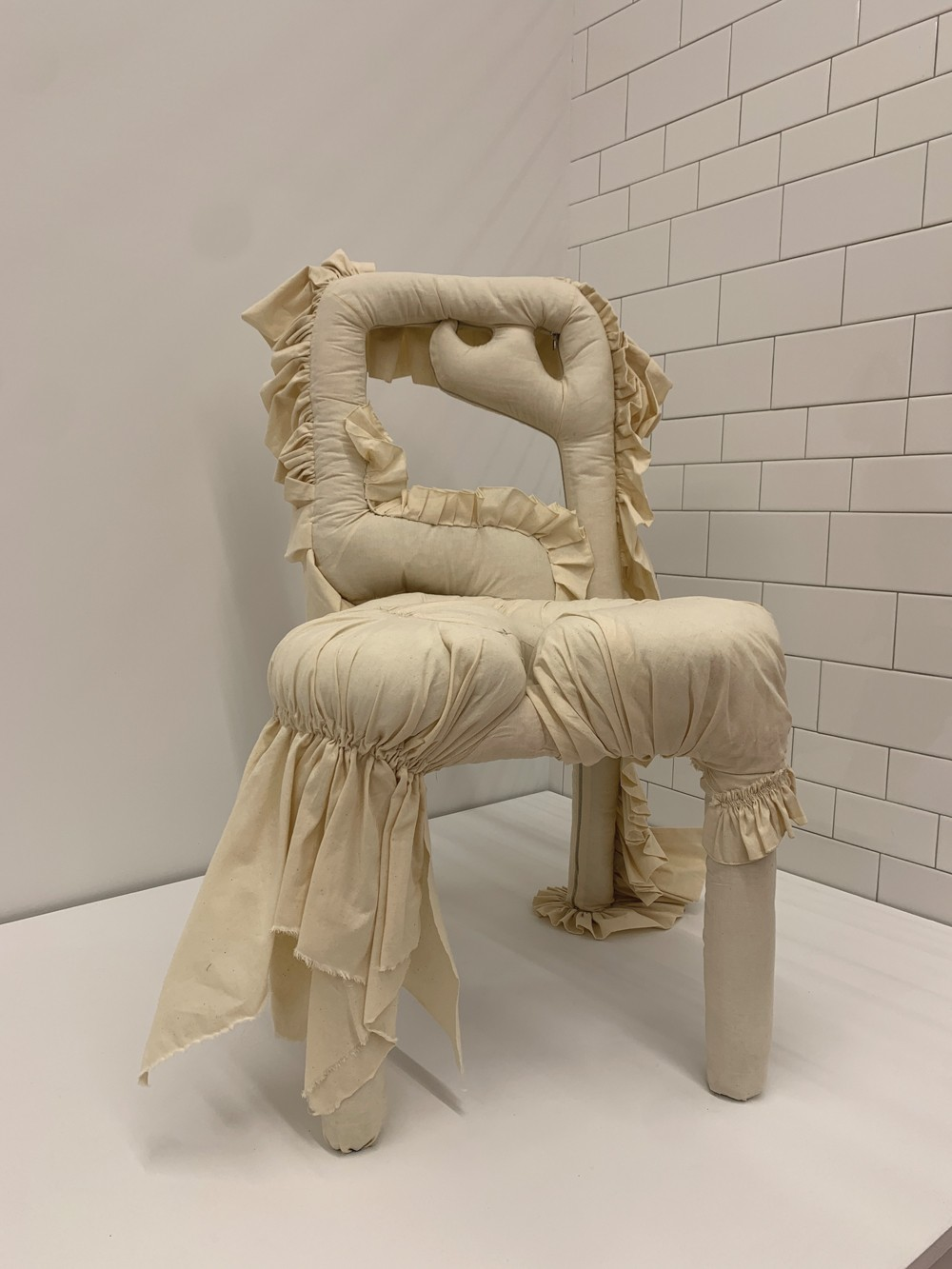 Bonnet Chair 2, Katie Stout