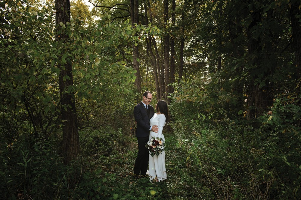 Kevin and Kimberly tied the knot at Elm Rock Inn in the fall. - PHOTO BY CHRISTINE ASHBURN
