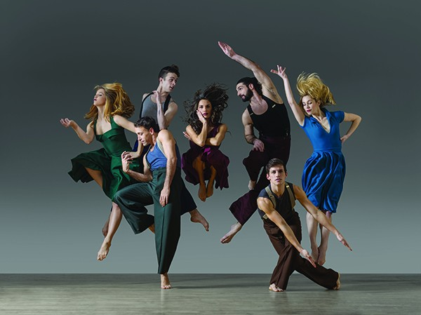 Parsons Dance returns for its tenth season at PS21 Friday and Saturday, August 28 and 29 at 8pm. - LOIS GREENFIELD
