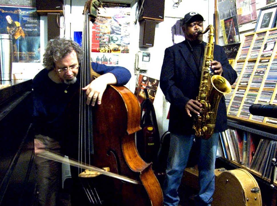 Michael Bisio and Joe McPhee