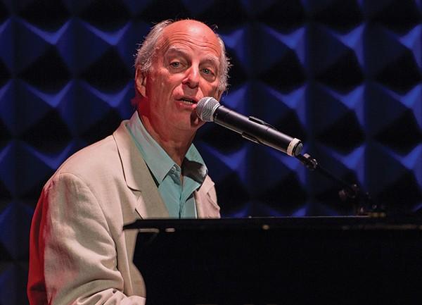 John Simon performing at Joe's Pub in New York City in 2014.