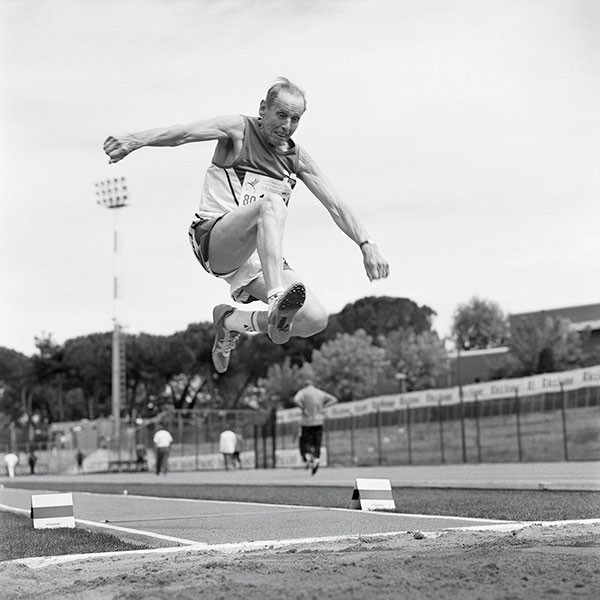 Long Jumper, 80-84 Division, World Masters, Riccione, Italy. - ANGELA JIMENEZ