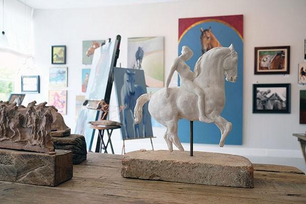 Equis Art Gallery in Red Hook - ROY GUMPEL