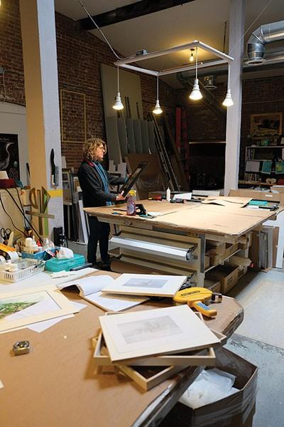 Renee Burgevin of Atelier Renee at the Chocolate Factory in Red Hook