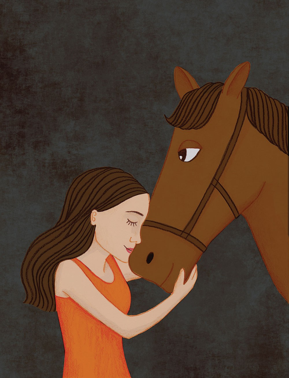 Horse equine physical therapy - Click To Enlarge Illustration Annie Internicola