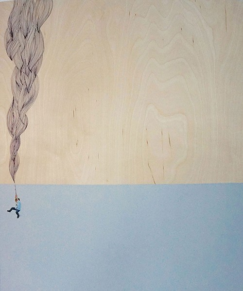 """Rope/Swing"" by Margot Kingon 