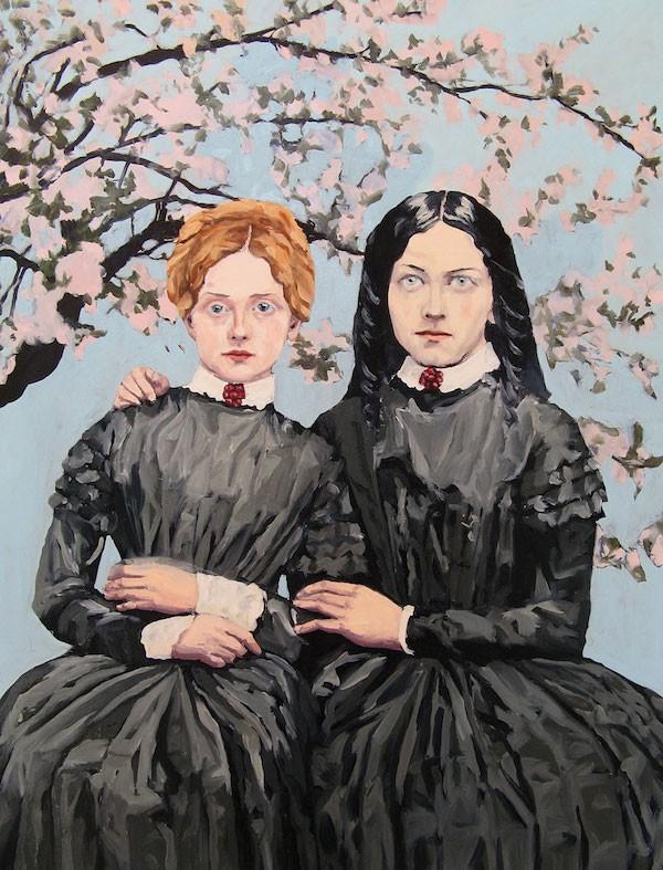 """Banished,"" Melora Kuhn, oil on canvas, 48"" x 36"", 2012, Courtesy Galerie Eigen + Art Leipzig/Berlin"