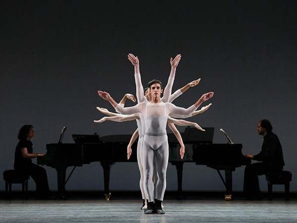 New York City Ballet Move's Sean Suozzi and Ensemble perform at Bard's SummerScape. - PAUL KOLNIK