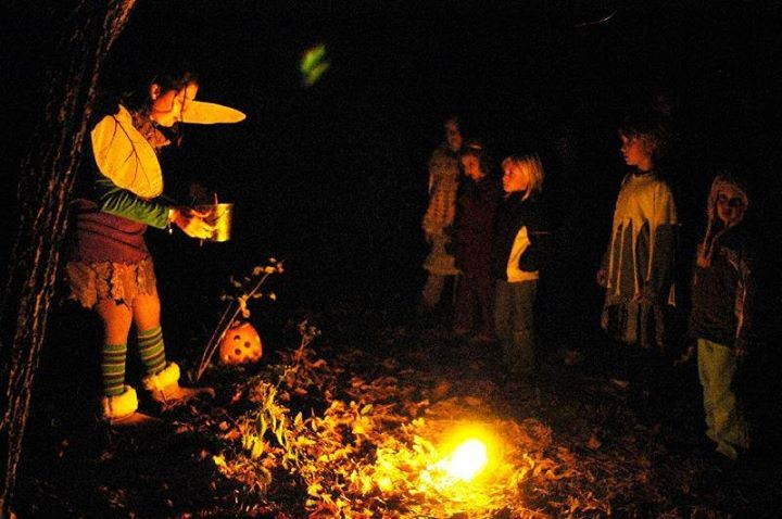 Children at Cara Cruickshank's Halloween Journey. - PHOTO COURTESY OF THE HALLOWEEN JOURNEY.