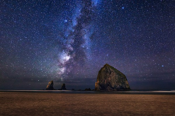 The Milky Way. Photo by Michael Matti under CC 2.0.