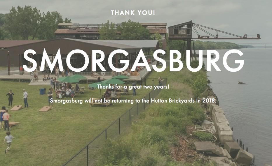 Breaking News: Smorgasburg Won't Return to Hutton Brickyards