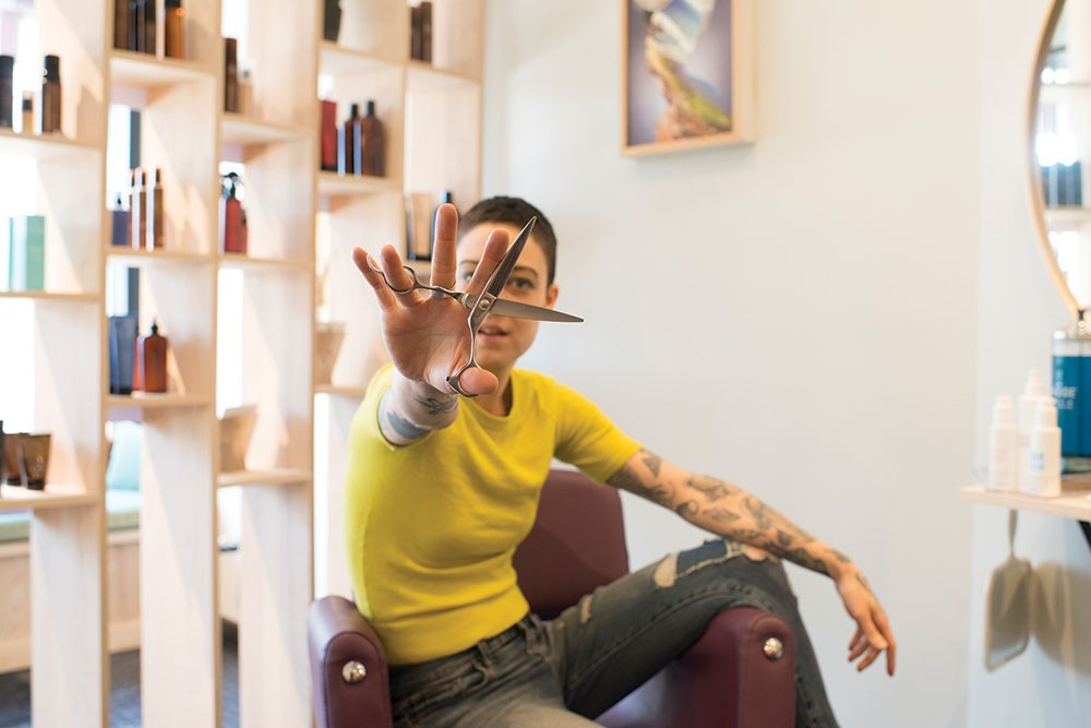 Salune Hudson Brings Dry Hair Cutting To The Hudson Valley Art Of