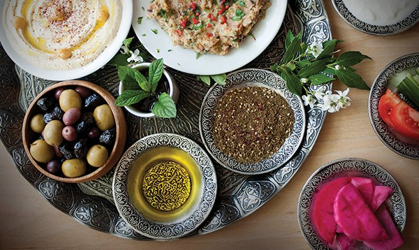 Middle Eastern delicacies from Ziatun in Beacon.