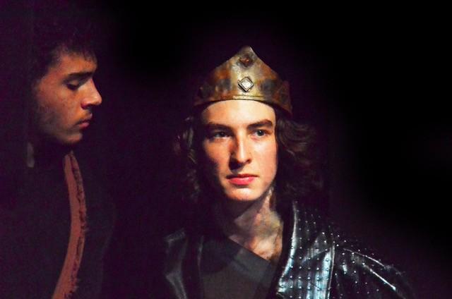 """""""Richard III,"""" Asa Spurlock and Gopal Harrington"""