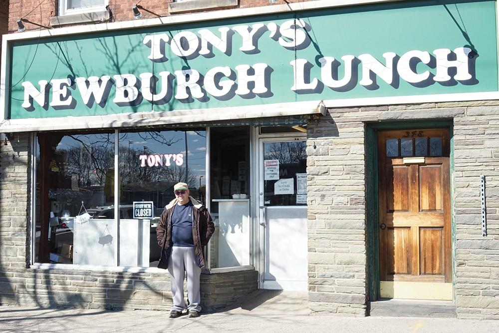Tony of Tony's Newburgh Lunch - PHOTO: JOHN GARAY