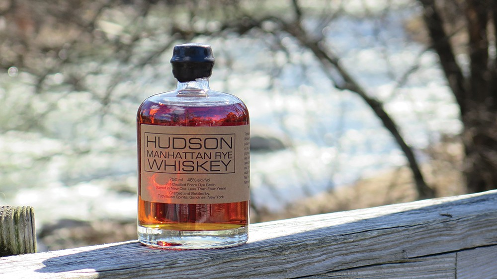 Hudson Whiskey's Manhattan Rye.