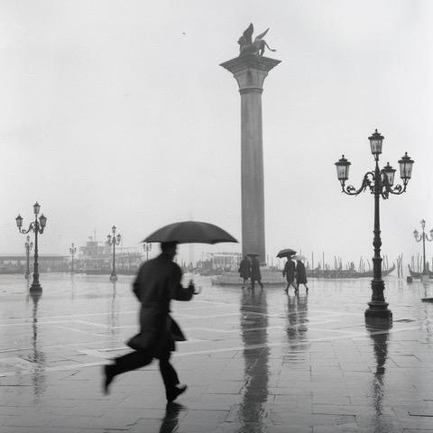 Running Man, Venice, Italy, 1962. - DMITRI KASTERINE
