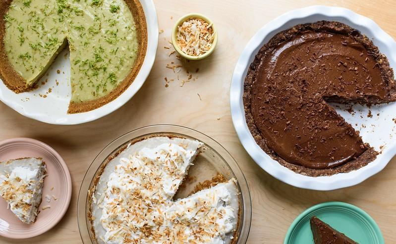Vegan Coconut Cream Pie - ALEXANDRA SHYTSMAN, COURTESY OF CATSKILL ANIMAL SANCTUARY