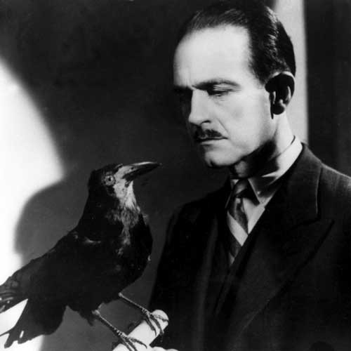 Scene from The Raven (1943).