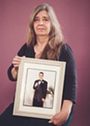 Audrey Degondea with a photo of her 20-year-old son Ean, who overdosed on heroin in June 2008.