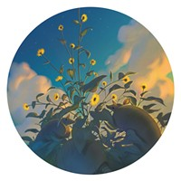 Parting Shot: Lachlan Herrick's Silverleaf Sunflower Illustration