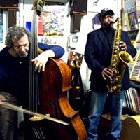 Joe McPhee and Michael Bisio Jam in New Paltz