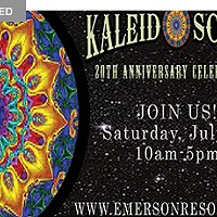 Celebrating 20 Years! The Kaleidostore at the Emerson Resort & Spa Saturday, July 9, 2016 10:00a.m. to 5:00p.m.