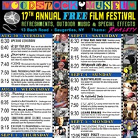 Woodstock Museum Free Film Festival