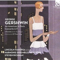 "CD Review: Lincoln Mayorga/Harmonie Ensemble/Steve Richman ""George Gershwin: As American in Paris, Concerto in F"""