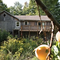 A Hemlock Home on the Hill