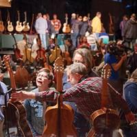 Woodstock Invitational Luthiers Showcase