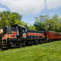 Seasonal Vintage Train Rides