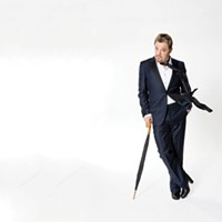 Comedian Eddie Izzard Performs Live at UPAC