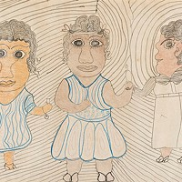 Outsider Folk Artist Inez Nathaniel Walker's First Solo Exhibit