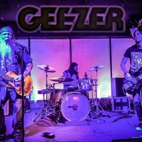 Geezer Rocks the Anchor in Kingston on Wednesday