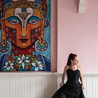 Artist Kelli Bickman's Vibrant Live/Work/Gallery Space in Saugerties
