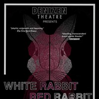 """White Rabbit Red Rabbit"" at the Denizen is a Cold Reading Social Experiment"