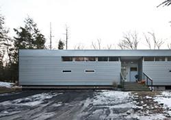 Zoe Bissell's Metal House in West Hurley