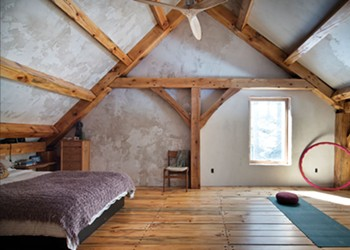 Marko Shuhan's Timber Frame Home in Accord
